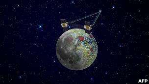 Las dos sondas lunares