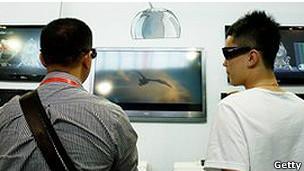 Televisión 3D en China