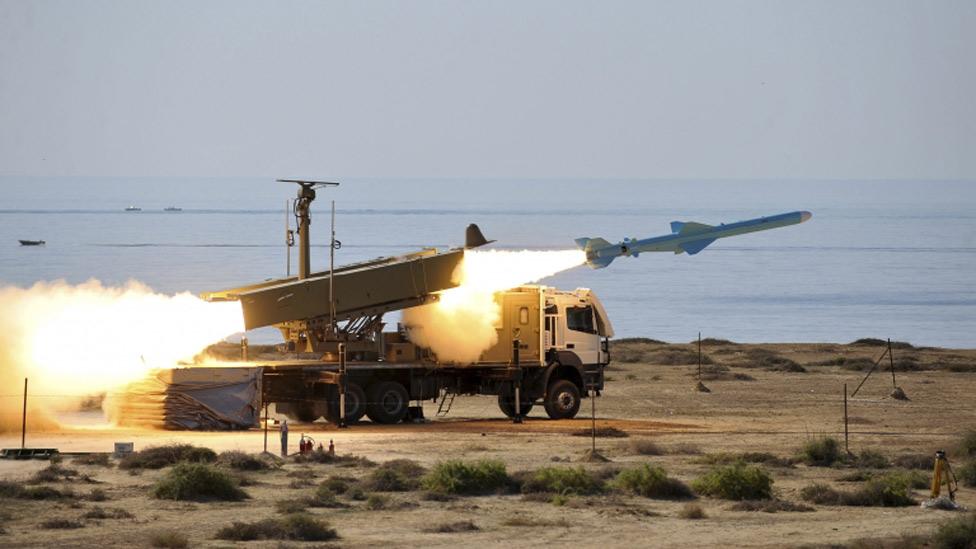 Prueba de misil iraní