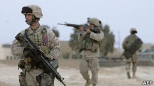 Soldados americanos no Iraque (AFP)