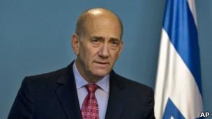 اهود اولمرت، نخست وزیر سابق اسرائیل