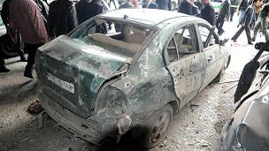 انفجار دمشق