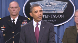 Tổng thống Obama loan báo chiến lược quân sự Mỹ ở Lầu Năm Góc