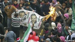 تظاهرات در سوریه