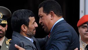Ahmadinejad y Chávez
