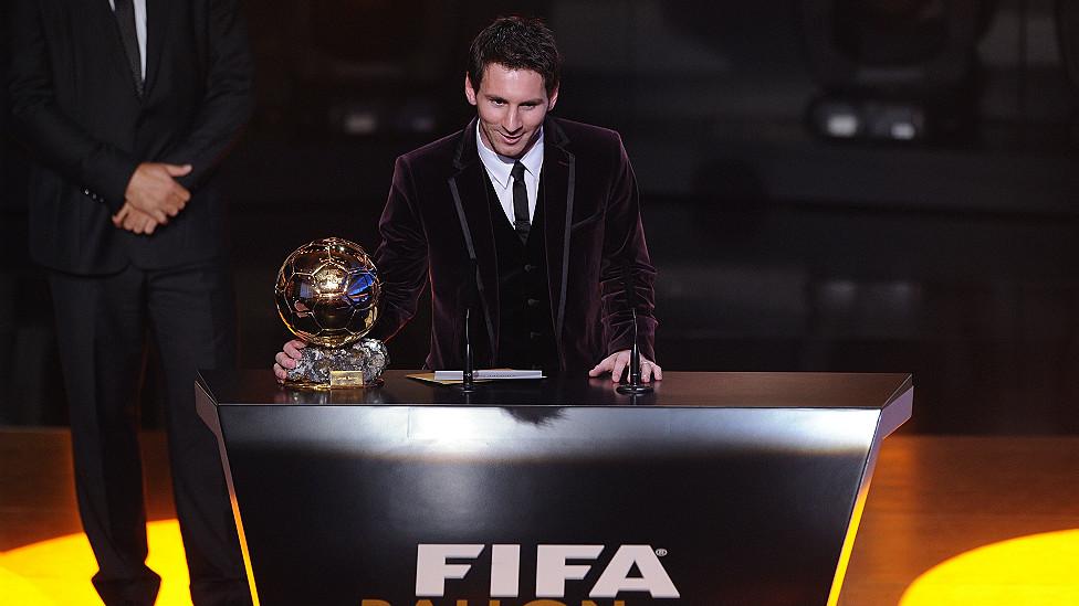 En fotos: Lionel Messi, el mejor futbolista del mundo