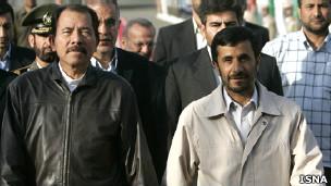 احمدی نژاد و ارتگا