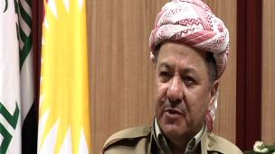 مسعود بارزانی رئیس دولت خودمختار کردستان