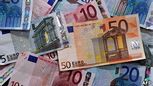 Euros/AFP