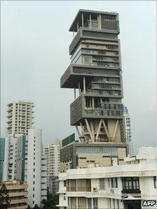 印度摩天大楼私人住宅