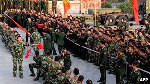 نیروهای چینی