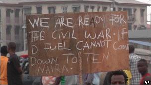 Manifestaciones en las calles