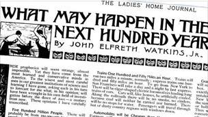 Previsões de John Watkins. BBC