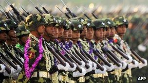 نظامیان برمه