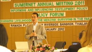 TS Trần Văn Giải Phóng trình bày công trình nghiên cứu