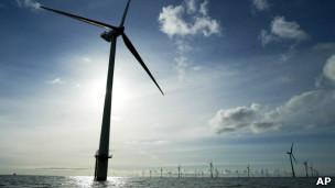 Molinos de viento en Dinamarca