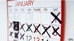 Un nuevo calendario idéntico cada año
