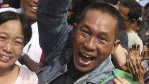 缅甸政治犯获释