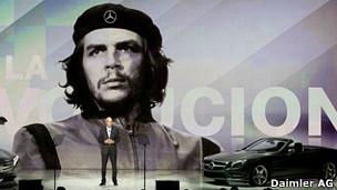 Imagen promocional de Mercedes en Las Vegas