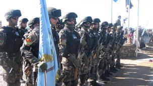 مسئولیت امنیت ۱۲ منطقه هرات به نیروهای افغان واگذار شد!