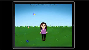 Aplicación para niños con autismo