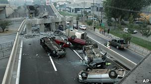 Terremoto en Chile en febrero de 2010.