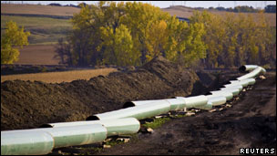 خط لوله نفت کی ستون
