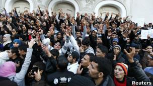 Tunisianos celebram primeiro aniversário da Primavera Árabe