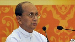 تین سین، ژنرال سابق ارتش برمه