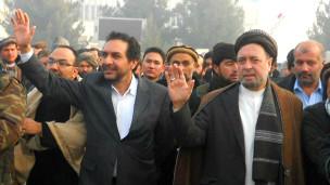 محمد محقق و احمد ضیا مسعود