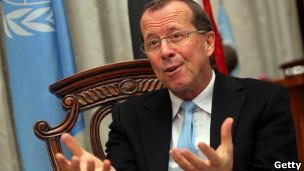 المبعوث الخاص للأمم المتحدة لدى العراق،  مارتن كوبلر