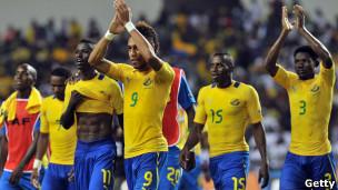 Wachezaji wa Gabon