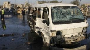خودرو بمبگذاری شده در عراق