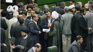 درگیری در مجلس