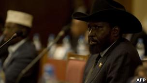 南苏丹总统基尔