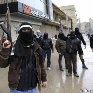 مخالفان مسلح در سقبا