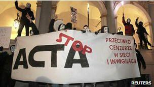 Protestas contra el ACTA