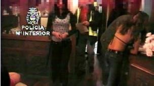 Brasileiras atuando como prostitutas na Espanha (Ministério do Exterior da Espanha)