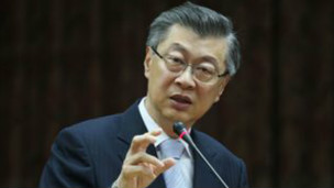 台湾即新任的行政院长陈冲(中央社图片)