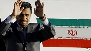 presidente de Irán, Mahmoud Ahmadinejad
