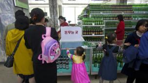 也许如传媒所说,在北韩难以看到真正的北韩。不过,在样板之下,偶然仍可窥到人性的渴望