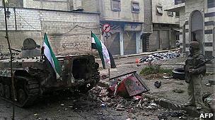 叙利亚城市霍姆斯(2012年2月4日)