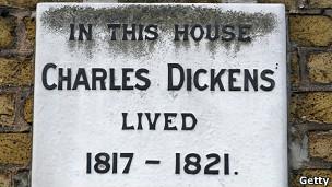 Casa donde vivió Dickens