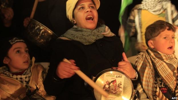 فلسطینیان خواهان آشتی فتح و حماس