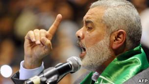 اسماعیل هنیه، نخستوزیر حماس در غزه