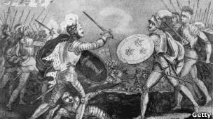 Batalha de Agincourt. | Foto: Getty