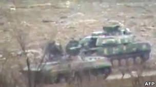 تانک های ارتش