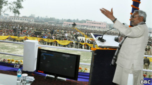 मुख्यमंत्री नितीश कुमार