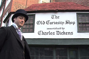 The Teacher dressed as Dickens