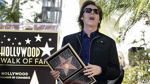 Paul McCartney y su estrella